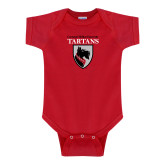 Red Infant Onesie-Mascot