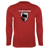 Performance Red Longsleeve Shirt-Mascot