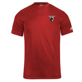 Russell Core Performance Red Tee-Mascot