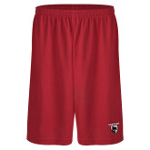 Performance Classic Red 9 Inch Short-Mascot
