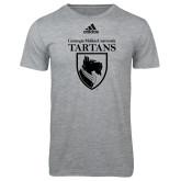 Adidas Sport Grey Logo T Shirt-Mascot One Color