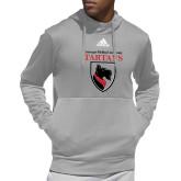 Adidas Grey Team Issue Hoodie-Mascot