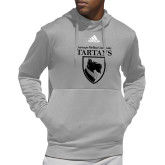 Adidas Grey Team Issue Hoodie-Mascot One Color