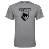 Grey T Shirt-Mascot One Color