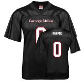 Replica Black Adult Football Jersey-Carnegie Mellon Jersey