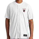 New Era White Diamond Era Jersey-Mascot Embroidery