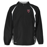 Holloway Hurricane Black/White Pullover-Mascot Embroidery