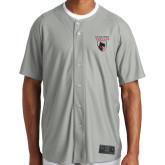 New Era Light Grey Diamond Era Jersey-Mascot Embroidery
