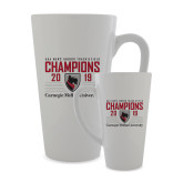 Full Color Latte Mug 17oz-2019 UAA Mens Indoor Track and Field Champions