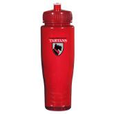 Spectrum Red Sport Bottle 28oz-Mascot