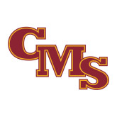 Medium Decal-CMS Stacked, 8 inches wide