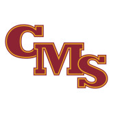 Large Decal-CMS Stacked, 12 inches wide