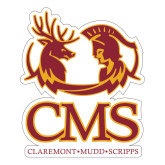 Large Decal-CMS Mascots, 12 inches tall