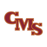 Small Decal-CMS Stacked, 6 inches wide