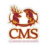 Small Decal-CMS Mascots, 6 inches tall