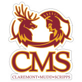 Extra Large Decal-CMS Mascots, 18 inches tall