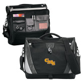 Slope Black/Grey Compu Messenger Bag-CMS Stacked