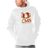 Under Armour White Armour Fleece Hoodie-CMS Mascots