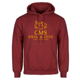 Cardinal Fleece Hoodie-Swim and Dive