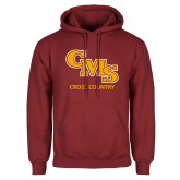 Cardinal Fleece Hoodie-CMS Cross Country