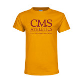 Youth Gold T Shirt-CMS Logo
