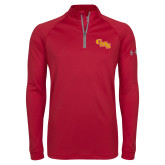 Under Armour Cardinal Tech 1/4 Zip Performance Shirt-CMS Stacked