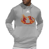Adidas Grey Team Issue Hoodie-CMS Mascots