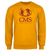 Gold Fleece Crew-CMS Mascots