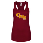 Next Level Ladies Cardinal Ideal Racerback Tank-CMS Stacked