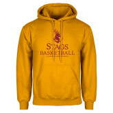 Gold Fleece Hoodie-Mens Basketball