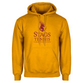 Gold Fleece Hoodie-Mens Tennis