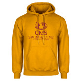 Gold Fleece Hoodie-Swim and Dive