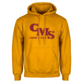 Gold Fleece Hoodie-CMS Swim and Dive