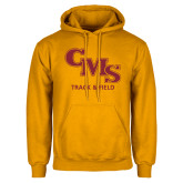 Gold Fleece Hoodie-CMS Track and Field
