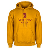 Gold Fleece Hoodie-Athenas Golf