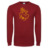 Cardinal Long Sleeve T Shirt-Stag