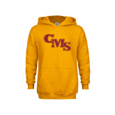 Youth Gold Fleece Hoodie-CMS Stacked