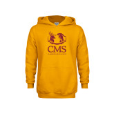 Youth Gold Fleece Hoodie-CMS Mascots