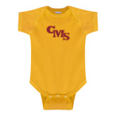 Gold Infant Onesie-CMS Stacked