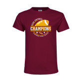 Youth Cardinal T Shirt-2018 SCIAC Football Champions