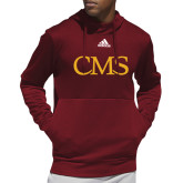 Adidas Cardinal Team Issue Hoodie-CMS Stacked