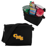 Six Pack Black Cooler-CMS Stacked