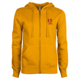 ENZA Ladies Gold Fleece Full Zip Hoodie-CMS Mascots