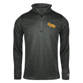 Russell Charcoal Heather 1/4 Zip-CMS Stacked