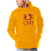 Under Armour Gold Armour Fleece Hoodie-CMS Mascots