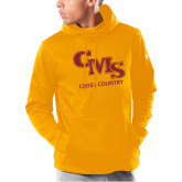 Under Armour Gold Armour Fleece Hoodie-CMS Cross Country