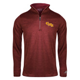 Russell Cardinal Heather 1/4 Zip-CMS Stacked