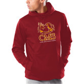 Under Armour Cardinal Armour Fleece Hoodie-CMS Mascots