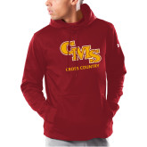 Under Armour Cardinal Armour Fleece Hoodie-CMS Cross Country