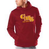 Under Armour Cardinal Armour Fleece Hoodie-Football